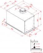 Вытяжка PERFELLI BI 5512 A 1000 I LED - изображение 5