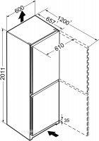 Двухкамерный холодильник LIEBHERR CNel 4813 - изображение 16