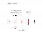 Прицел оптический Hawke Frontier 30 SF 5-30x50 прицельная сетка TMX с подсветкой. 39860107 - изображение 3