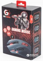 Мышь Gembird MUSG-004 USB Black (MUSG-004) - изображение 4