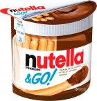 Ореховая паста с какао Nutella и Хлебные палочки  (Nutella&Go) 52 г (80050100) - изображение 1