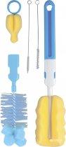 Набор щеток Canpol Babies для мытья бутылочек и сосок Голубые (7/403) - изображение 1