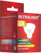 Світлодіодна лампа Ultralight LED MR16 6W 3000K GU10 (UL-49718) - зображення 2