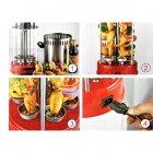 Электрошашлычница Livstar LSU-1320 1000W на 6 шампуров шашлычница для шашлыка дома Красный - изображение 6