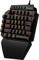 Клавиатура проводная Redragon Ida RGB USB Black OUTEMU Blue (77437) - изображение 2