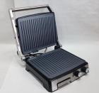 Гриль електричний DSP KB1036 Електрогриль 2000Вт контактний + таймер + піддон + регулювання температури + индикатр + антипригарне покриття для будинку - зображення 2