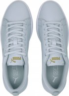 Кеды Puma Smash Wns V2 L Perf 36521615 40 (6.5) 25.5 см Plein Air-Team Gold-White (4062451595890) - изображение 6