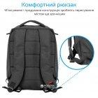 """Рюкзак для ноутбука Promate Citypack 15.6"""" Black (citypack-bp.black) - зображення 4"""