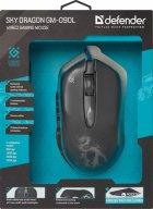 Миша Defender Sky Dragon з ігровою поверхнею GM-090L USB Black (52090) - зображення 15