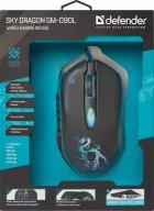 Миша Defender Sky Dragon з ігровою поверхнею GM-090L USB Black (52090) - зображення 14