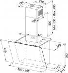 Вытяжка FRANKE Smart Vertical 2.0 FPJ 615 V BK/DG A (330.0573.294) - изображение 8