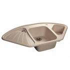 Кухонна мийка AQUAMARIN TERA 106-60 BG Бежевий - зображення 2