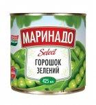 Горошек зеленый Маринадо 425 мл (4820078571136) - изображение 1