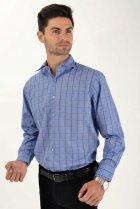 Мужская рубашка (9021-26) AGER 41 Синий 000042292 - изображение 3