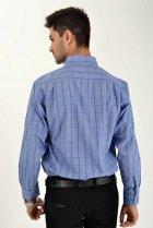 Мужская рубашка (9021-26) AGER 40 Синий 000042287 - изображение 2