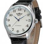 Мужские механические часы Winner Lux White, наручные с датой - изображение 2