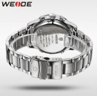 Мужские наручные часы Weide Led Steel, двойное время, подсветка - изображение 6