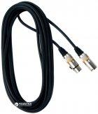 Мікрофонний кабель RockCable RCL30355 D6 5 м Black (RCL30355 D6) - зображення 1