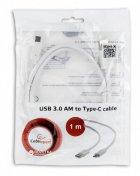 Кабель Cablexpert USB 3.0 - USB Type-C 1 м (CCP-USB3-AMCM-1M-W) - зображення 4