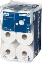 Туалетний папір Tork SmartOne в міні-рулонах 12 рулонів (TORK472193) - зображення 1