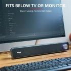 Акустическая система Trust Arys Soundbar for PC Black (TR22946) - изображение 7