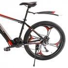 Электровелосипед Zhengbu M8 Black from red - изображение 5
