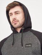 Худи Calvin Klein Jeans 10471 2XL Темно-серое - изображение 4