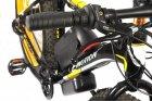 "Електровелосипед E-motion Fatbike 48V 1000 Вт 26"" чорно-жовтий (EFB-BLACK-YELLOW) - зображення 3"