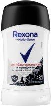 Дезодорант-антиперспірант Rexona Антибактеріальна та невидима 40 мл (46195890) - зображення 1