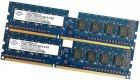 Пара оперативної пам'яті Nanya DDR3 4Gb (2Gb+2Gb) 1333MHz PC3 10600U 1R8 CL9 (NT2GC64B88B0NF-CG) Б/У - зображення 1