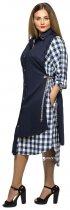 Платье VLAVI 115506 Евгения 56-58 Синее - изображение 2