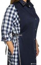 Платье VLAVI 115506 Евгения 56-58 Синее - изображение 4