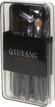 Набір пензлів для макіяжу Qiuyang 7 шт. Сірий (2000100049266) - зображення 3