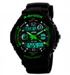 Чоловічі годинники Skmei S-Shock Green 0931 - изображение 2