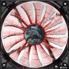 Кулер Aerocool Shark Fan 120 мм Orange LED - зображення 2