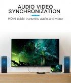 Кабель Vention HDMI-HDMI, 1 m, v2.0 (VAA-M02-B100) - зображення 6