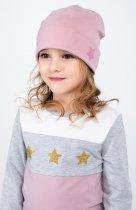 Демисезонная шапка Vidoli G-2013W 55 см Пудровая (4820160994454) - изображение 1