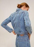 Джинсовая куртка Mango 67095910-TM M (8445035868843) - изображение 6