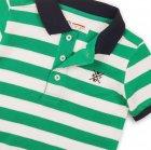 Поло Minoti 1Polost 3 13071 146-152 см Зеленое с белым (5059030307998) - изображение 3
