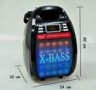 Колонка комбик Golon Bluetooth mp3 радиомикрофон пульт цветомузыка Golon RX-810 BT - изображение 4