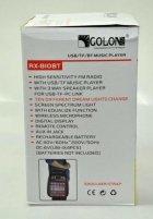 Колонка комбик Golon Bluetooth mp3 радиомикрофон пульт цветомузыка Golon RX-810 BT - изображение 8