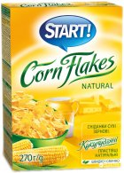 Кукурузные хлопья Start натуральные 270 г (4820008125040) - изображение 2