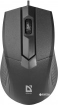 Миша Defender Optimum MB-270 USB Black (52270) - зображення 1