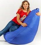 Крісло мішок груша 120х85см Синій - зображення 2