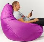 Крісло мішок груша 150х100 см Фіолет - зображення 3
