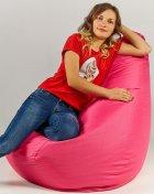 Крісло мішок груша 120х85см Рожевий - зображення 3