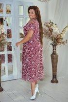 Платье ALDEM 1741 52 Бордовое (2000000366135) - изображение 3