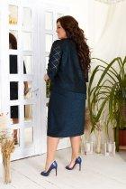 Платье ALDEM 1950 58/60 Темно-синее (2000000381190) - изображение 2