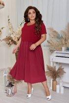Платье ALDEM 2005 50 Бордовое (2000000366920) - изображение 2