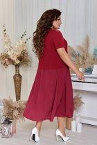 Платье ALDEM 2005 50 Бордовое (2000000366920) - изображение 3